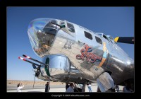 "B-17 Flying Fortress ""Sentimental Journey"" Visit to Mojave"