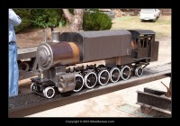 Dave August's current project - a 2-10-2 Logging engine.