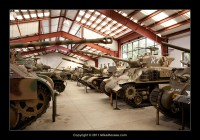 A small part of the finest tank collection in the world.