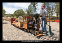 Jim Sabin's MEG train and new caboose