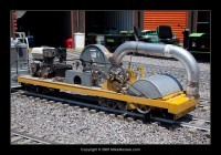 Train Mountain MOW Equipment